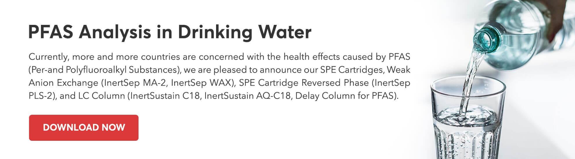 PFAS Analysis in Drinking Water